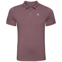 Polo manches courtes NEW TRIM, rose taupe, large