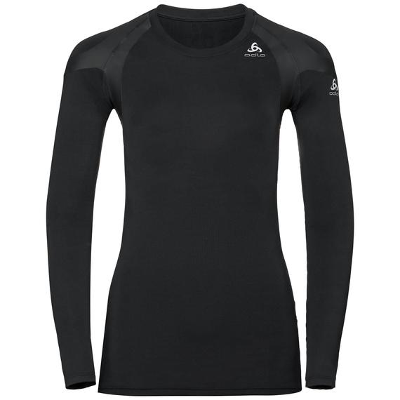 T-Shirt technique à manches longues ACTIVE SPINE LIGHT pour femme, black, large
