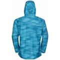 WATERDICHTE FLI 2.5L-hardshelljas met print voor heren, horizon blue - graphic SS21, large
