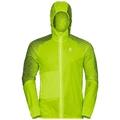 Jacket WISP, acid lime - placed print SS18, large