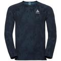 BL Top VIGOR langärmeliges Oberteil mit Rundhalsausschnitt, blue coral - black, large