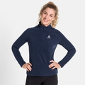 Women's BERNINA 1/2 Zip Midlayer, diving navy, large
