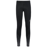 Legging ZEROWEIGHT, black with print FW17, large