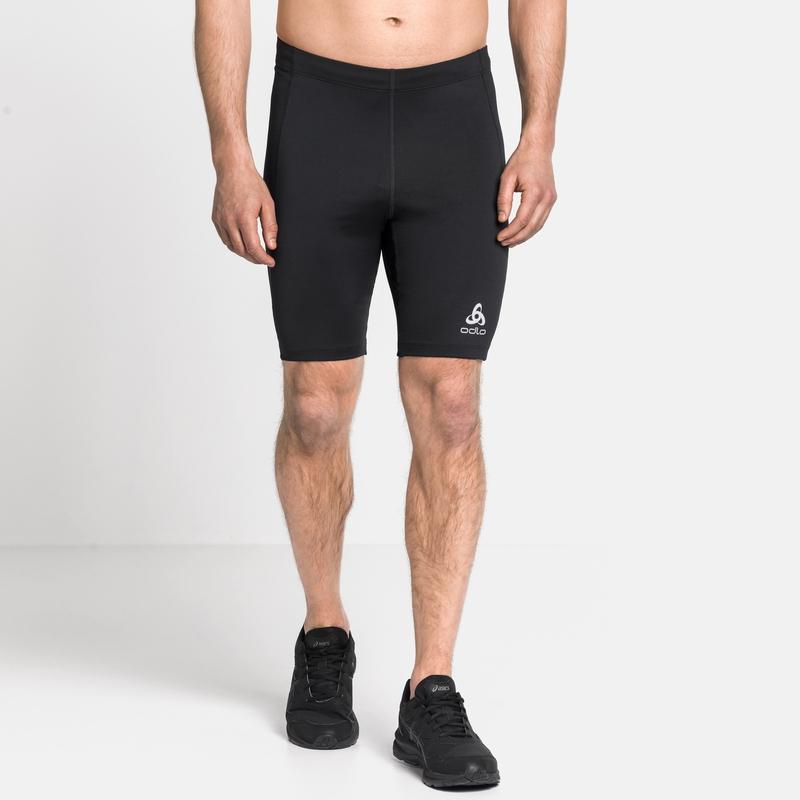 Men's ELEMENT Short Running Tights, black, large