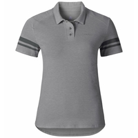 Polo shirt s/s SPUR, odlo concrete grey, large