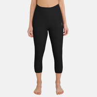 Women's ACTIVE WARM 3/4 Baselayer Pants, black, large