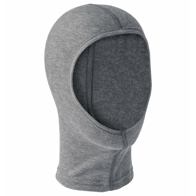The Active Warm Kids ECO face mask, odlo steel grey melange, large
