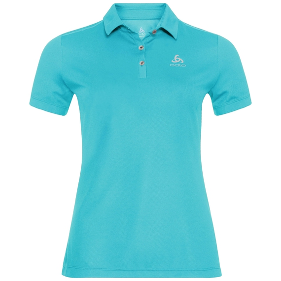 TINA polo shirt, blue radiance, large