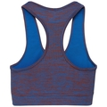 Brassière de sport BLACKCOMB SEAMLESS MEDIUM, energy blue - fiery red, large
