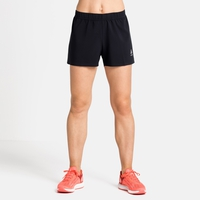 Damen ZEROWEIGHT Laufshorts, black, large