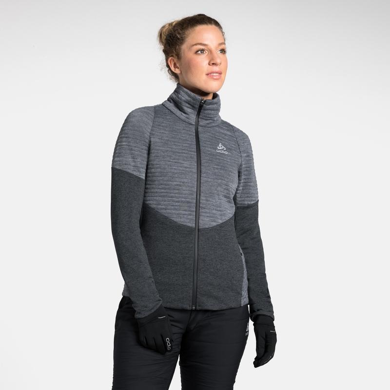 Women's MILLENNIUM Yakwarm PRO Jacket, black melange, large