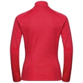 Women's PROITA Full-Zip Midlayer Top, chinese red, large