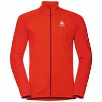 Men's ZEROWEIGHT WARM HYBRID Running Jacket, orange.com, large