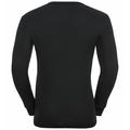 ACTIVE WARM 2-pack-basislaagtop met lange mouwen voor heren, black - jester red, large