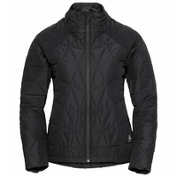 Women's ZAHA Insulated Jacket, black, large