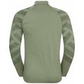 Herren CONCORD PRINT Mid Layer-Jacke, matte green melange - graphic SS21, large