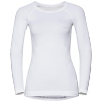 EVOLUTION WARM baselayer shirt, white, large