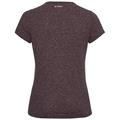 Women's LOU LINENCOOL T-Shirt, plum perfect melange, large