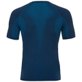 Men's PERFORMANCE WARM Base Layer T-Shirt, poseidon - blue jewel, large