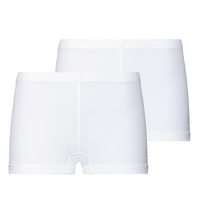 Women's ACTIVE CUBIC LIGHT Sports Underwear Panty 2 Pack, white - snow white, large