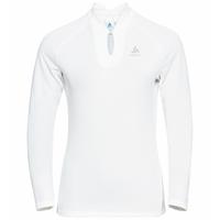 T-shirt manches longues F-DRY pour femme, white, large