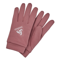 STRETCHFLEECE LINER WARM Gloves, roan rouge, large