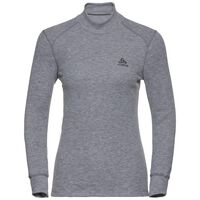 Active Originals Warm langärmeliges Shirt mit Rollkragen, grey melange, large