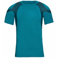 ACTIVE SPINE LIGHT-basislaag-T-shirt voor heren, tumultuous sea, large