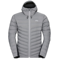 Jacket insulated SEVERIN COCOON, odlo concrete grey, large