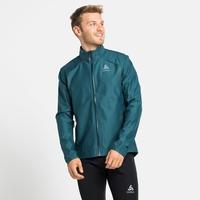 Men's ZEROWEIGHT FUTUREKNIT Cross-country Jacket, submerged - orange.com, large