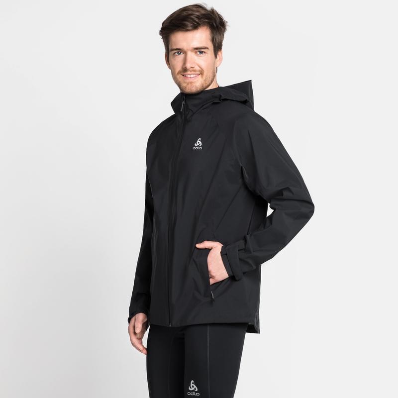 Men's AEGIS Hardshell Jacket, black, large