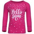 ACTIVE WARM TREND KIDS (SMALL) Long-Sleeve Base Layer Top, beetroot purple, large