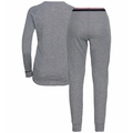 Set ACTIVE WARM Heritage, grey melange, large