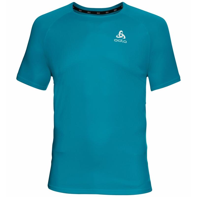 Herren ESSENTIAL Laufshirt, stunning blue, large
