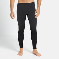 Men's PERFORMANCE WARM ECO Baselayer Pants, black - odlo graphite grey, large