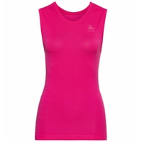 Women's PERFORMANCE LIGHT Base Layer Singlet, beetroot purple, large