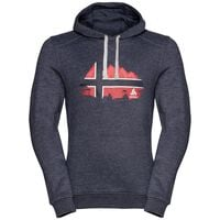 Hoody midlayer SQUAMISH CITY PROGRAM, navy - NORWEGIAN flag, large