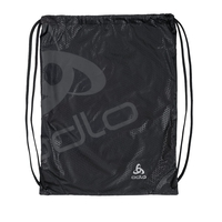 PRINTED GYM Tasche unisex, black - odlo graphite grey, large