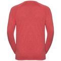BL Top AION langärmeliges Oberteil mit Rundhalsausschnitt, fiery red melange, large