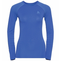 Women's PERFORMANCE LIGHT Long-Sleeve Base Layer Top, amparo blue - marina, large