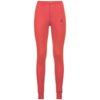 Women's ACTIVE WARM Base Layer Pants, hot coral, large