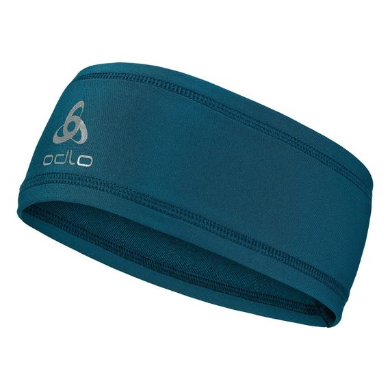 POLYKNIT LIGHT Headband, blue coral, large