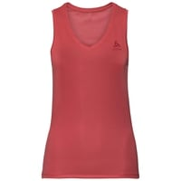 Women's ACTIVE F-DRY LIGHT V-Neck Base Layer Singlet, chrysanthemum, large
