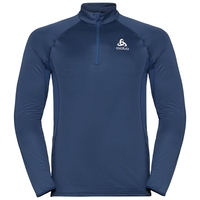 Men's ZEROWEIGHT CERAMIWARM 1/2 Zip Midlayer, estate blue, large