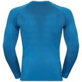 Men's PERFORMANCE WARM Long-Sleeve Base Layer Top, directoire blue - black, large