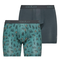 Boxer ACTIVE EVERYDAY 2 pack, arctic - cycling AOP SS19 - dark slate, large