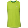 Men's F-Dry Singlet, acid lime, large