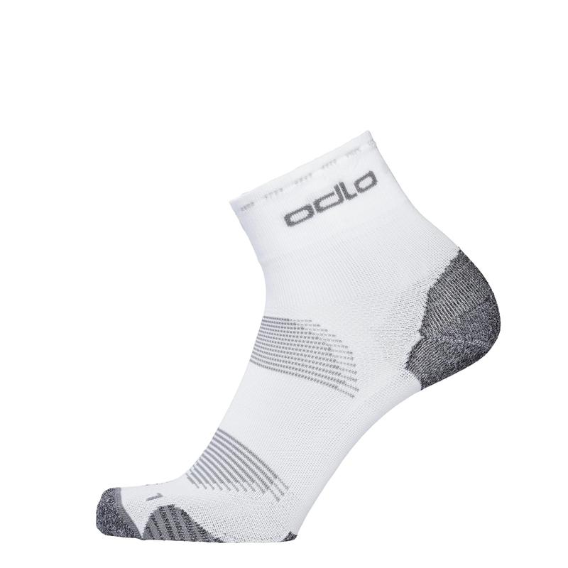 CERAMICOOL Cycling Quarter Socks, white, large