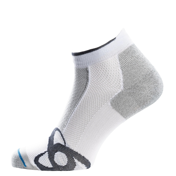 Socks low cut LIGHT, white, large