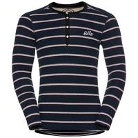 IVAR WARM langärmeliges Shirt mit Rundhalsausschnitt, navy new stripes, large